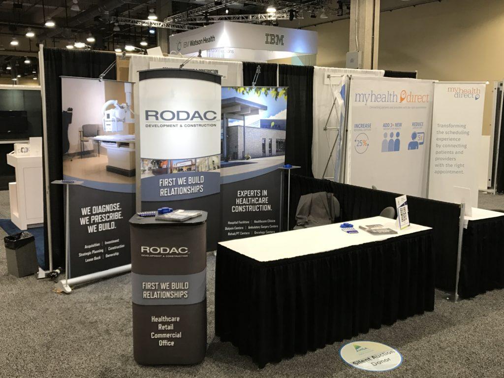 RODAC AMGA Exhibitor Booth